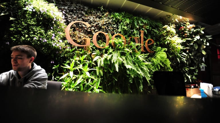 Google's offices in Pyrmont, Sydney.