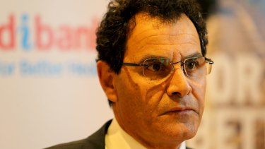 Medibank CEO George Savvides is stepping down earlier then expected. What's that about?
