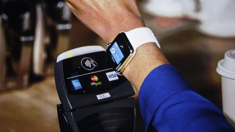The Apple Watch will be able to make payments using Apple Pay.