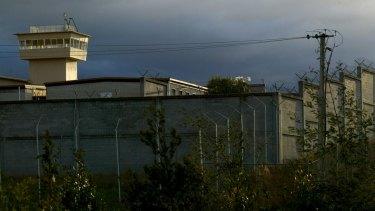 Hobart's troubled Risdon Prison.