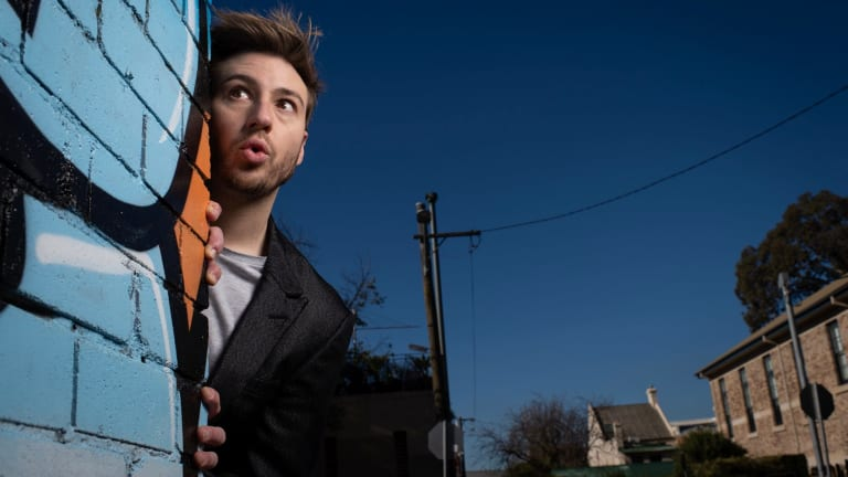 Matthew Mitcham is getting ready to appear in Celebrity Theatresports.