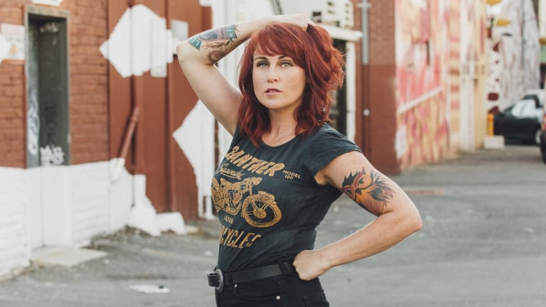 Ruby Boots is the alter ego of Perth's Rebecca Chilcott.