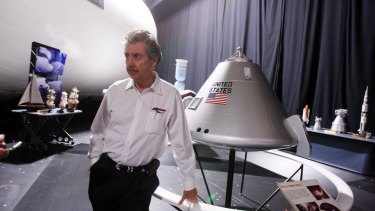 """Robert Bigelow, a billionaire aerospace entrepreneur and longtime friend of former senator Harry Reid, in North Las Vegas, Nevada. Bigelow has said he is """"absolutely convinced"""" that aliens exist and that UFOs have visited Earth."""