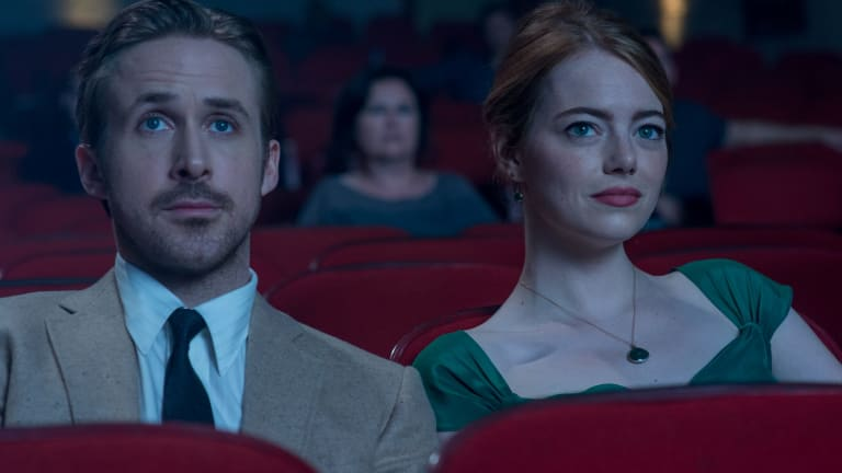 Oscar faves Ryan Gosling and Emma Stone in La La Land. Here's to your future obituaries.