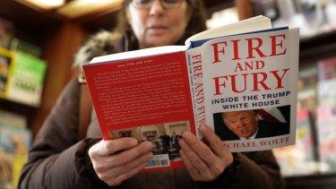 <i>Fire and Fury</i> has triggered a fresh political brawl involving US President Donald Trump.