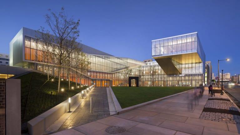 The Weiss/Manfredi designed Krishna P. Singh Centre for Nanotechnology in Philadelphia.