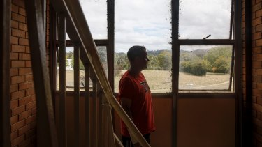 Stuart Flats resident Christian Nicholson fears he will be left with nowhere to go.
