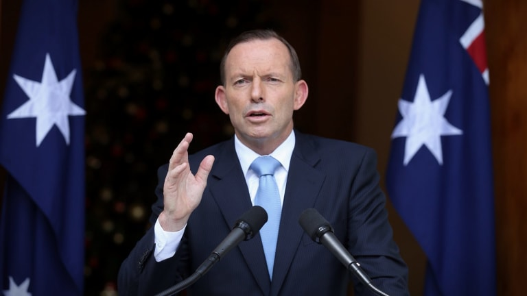 Prime Minister Tony Abbott has defended the number of women in senior positions in his government.