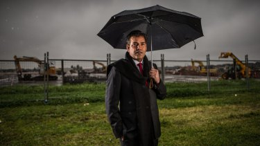 Millionaire property and education entrepreneur and re-elected Wyndham Councillor Intaj Khan.