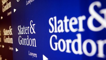 Slater & Gordon was the first law firm in the world to list. Its market capitalisation hit a peak in June of $2.7 billion.