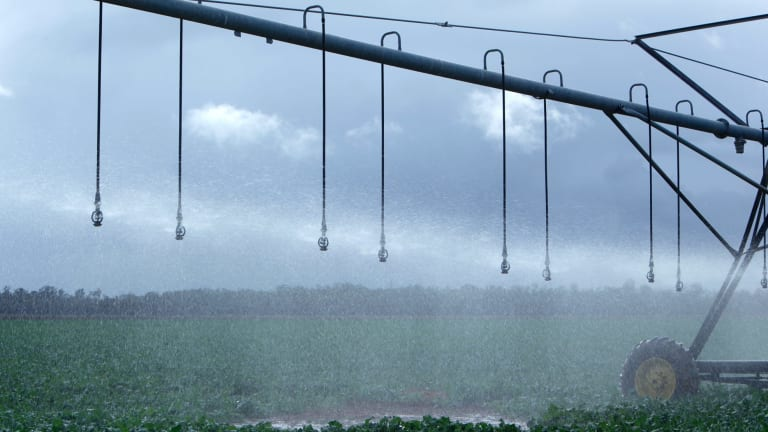 Irrigation rights can be valuable.