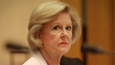 """""""I was very frustrated"""": Australian Human Rights Commission president Gillian Triggs."""