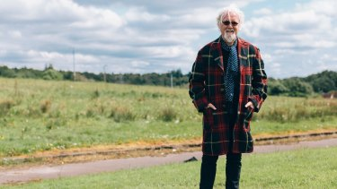 Billy Connolly, as upbeat as ever in Made in Scotland.