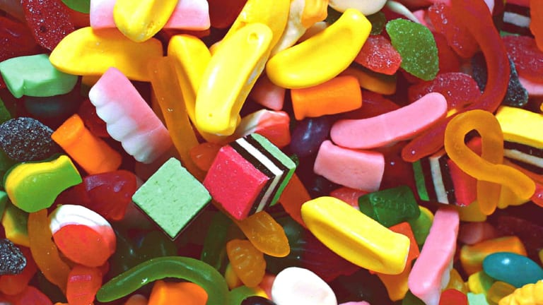 Titanium dioxide is one of the five engineered nanomaterials commonly used in consumer products, like lollies.