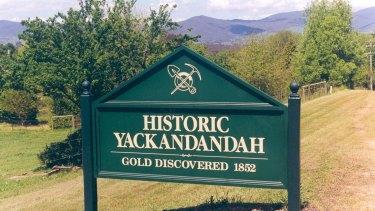 Gold was Yackandandah's original reason for being.