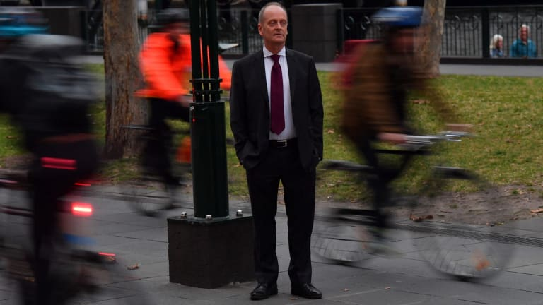 Southbank resident John Gigacz walks to work most days and regularly has issues with cyclists zipping past on the shared footpath. He is not alone.
