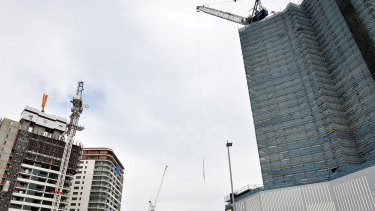 The rate of unit construction in Brisbane has been unprecedented over the past few years.