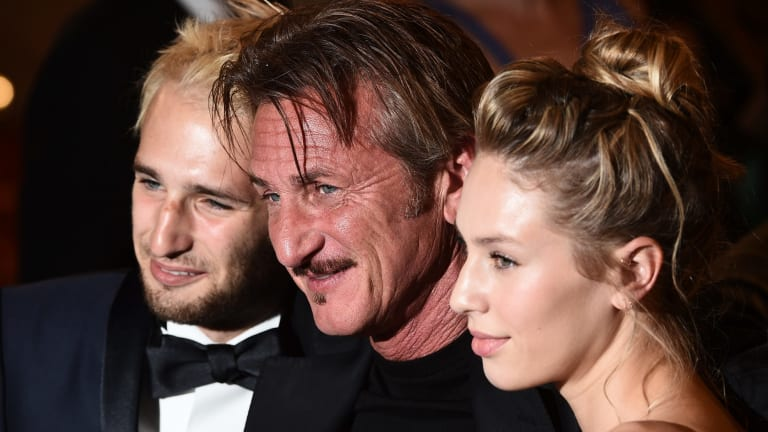 Booed: Sean Penn at the premiere of <i>The Last Face</i> during the 69th annual Cannes Film Festival.