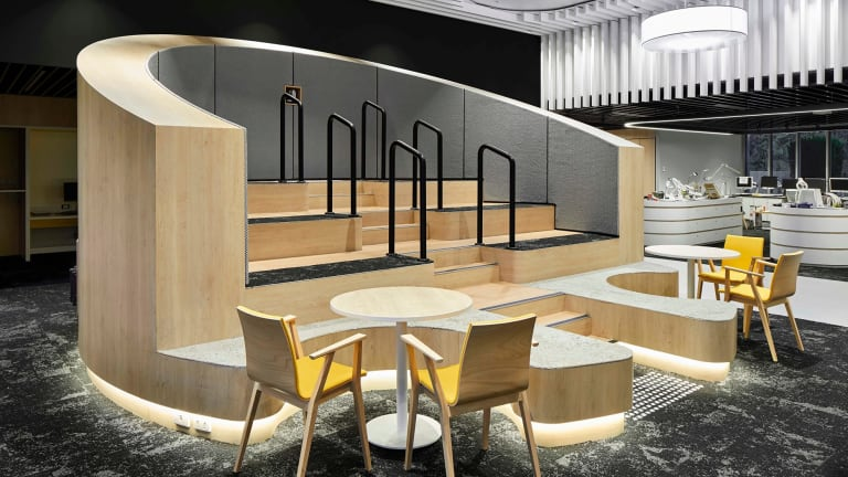 Vision Australia's headquarters, designed by Hot Black.