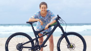 Jen Geale, co-owner of Mountain Bikes Direct, changed direction to open an online store.