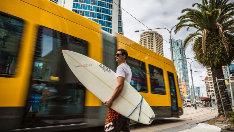 Property prices near the Gold Coast Light Rail did not immediately benefit from the infrastructure project, IA research shows.