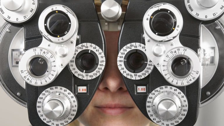 Foreseeing a problem: More than 1.45 billion people around the world currently suffer from myopia.