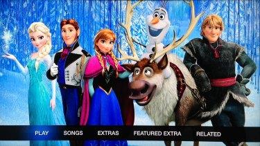<i>Frozen</i> on iTunes.
