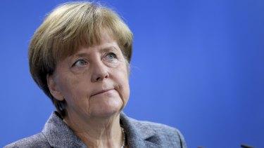 "The German response ""can make us proud"", Chancellor Angela Merkel said."