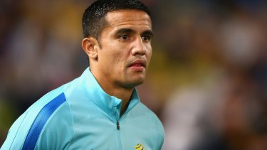 Coming home? Melbourne City want to bring Tim Cahill to the club after Aaron Mooy's departure to Manchester City.