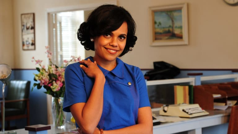 """Miranda Tapsell in <i>Love Child</i>: """"It's an exciting time to be an Indigenous actor."""""""