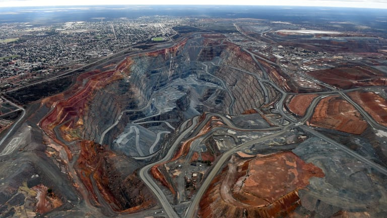 A new mineral has been discovered in the Kalgoorlie Super Pit.