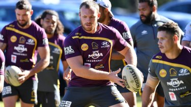 Controversy: Matt Lodge is set to resume his NRL career this season.