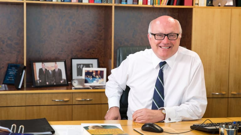 Attorney General George Brandis was laughed at for suggesting people contact Centrelink for assistance.
