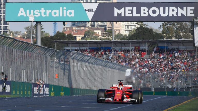 The Formula One circus is likely to hit Melbourne in mid-March next year.