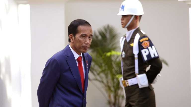 Indonesian President Joko Widodo has been targeted by opponents peddling fake news claiming he is Christian.