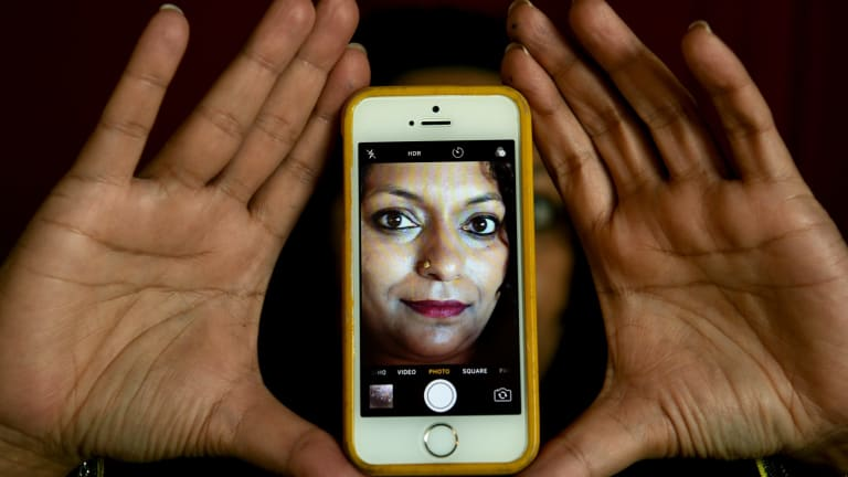 Roanna Gonslaves is making the case that the selfie is a form of literary expression.