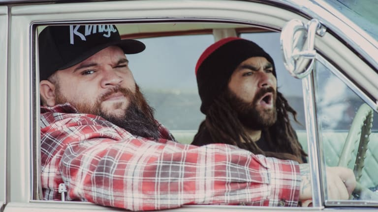 Adam Briggs and Dan Rankine, aka AB Original, are redefining indigenous identity with their hip-hop offerings.