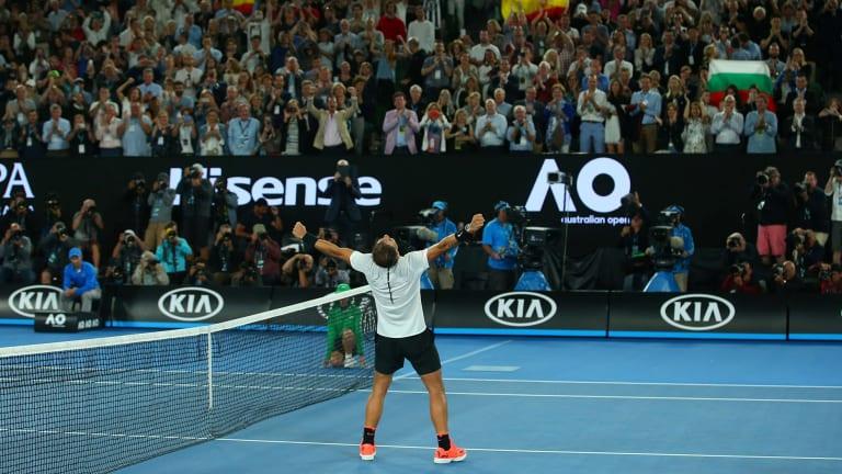 Rafa Nadal beats Grigor Dimitrov in an Australian Open epic.