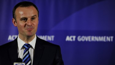 Chief Minister Andrew Barr said the Tigerair flights would add $17 million to the local economy.