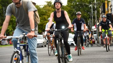 A liveable city needs good public transport, walking and cycling infrastructure.