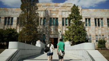 Holocaust denial flyers have been distributed around the University of Queensland's St Lucia campus.