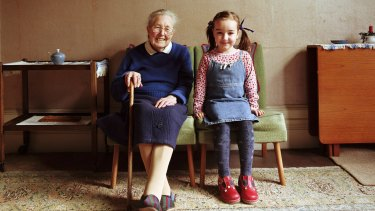 We were like sisters my grandmother and I. Pitted against each other for my mother's attention.