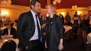 Former Victorian premier Steve Bracks launched Fiona Richardson's election campaign in 2010.
