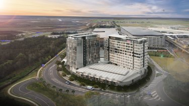 Both hotels will be built in the airport's domestic terminal precinct.