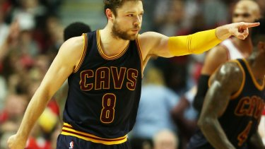 4b2161b5bca1 Hitting the big time  Matthew Dellavedova of the Cleveland Cavaliers.
