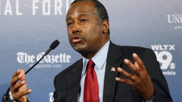 Republican presidential candidate Ben Carson has said Islam is antithetical to the US Constitution and he doesn't believe that a Muslim should be elected US president.