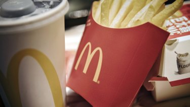 McDonald's pays a fee to its global business. McDonald's Australia reported paying $375 million to McDonald's Asia Pacific.