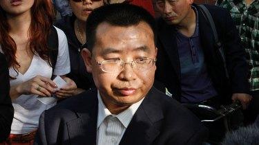 Human rights activist Jiang Tianyong in 2012.
