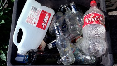 China's move to slash imports of recyclable rubbish has hit the local industry hard.