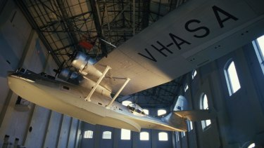 The Catalina Flying Boat at Powerhouse Museum.